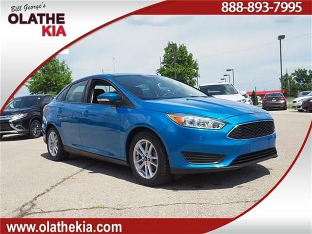 Pre Owned 2016 Ford Focus Se Sedan