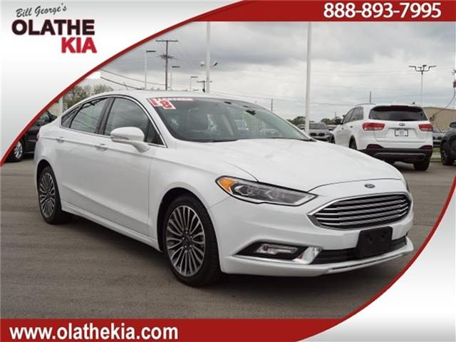 Pre Owned 2018 Ford Fusion Platinum All Wheel Drive Sedan
