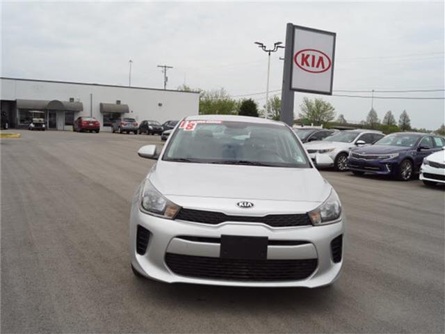 Pre-Owned 2018 Kia Rio S Sedan