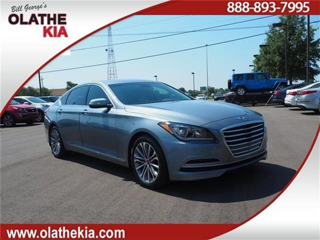 Pre Owned 2017 Hyundai Genesis 3 8 Rear Wheel Drive Sedan
