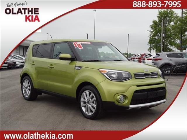 Certified Pre-Owned 2018 Kia Soul + 4dr Hatchback