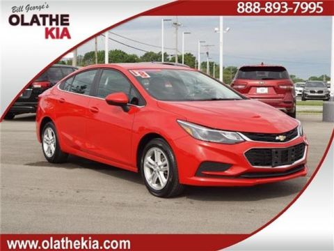 Pre-Owned 2018 Chevrolet Cruze LT Auto 4dr Sedan