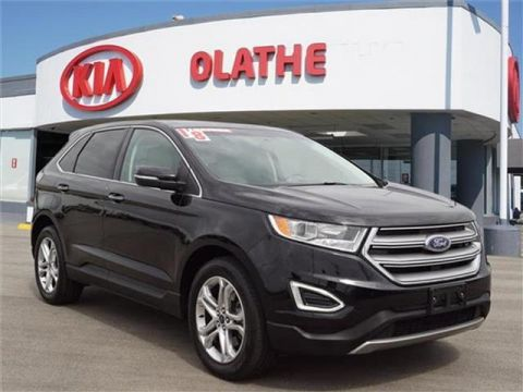 Pre-Owned 2018 Ford Edge Titanium 4dr All-wheel Drive
