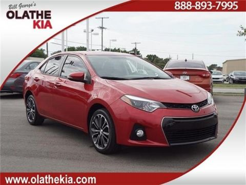 Pre-Owned 2016 Toyota Corolla S (CVT) 4dr Sedan