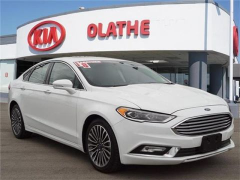 Pre-Owned 2018 Ford Fusion Platinum 4dr All-wheel Drive Sedan