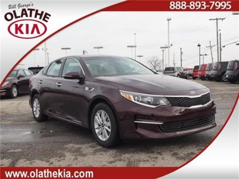 New 2018 Kia Optima LX 4dr Sedan