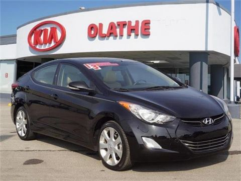 Pre-Owned 2013 Hyundai Elantra Limited (A6) 4dr Sedan