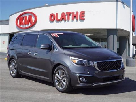Certified Pre-Owned 2018 Kia Sedona SX Limited Passenger Van