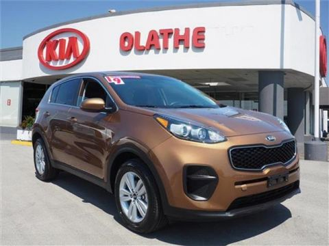 Certified Pre-Owned 2019 Kia Sportage LX 4dr Front-wheel Drive